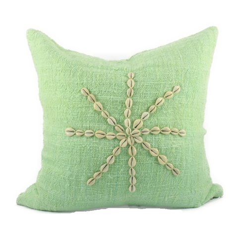 Scatter Cushion with Shell Star 50x50cm
