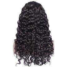 Load image into Gallery viewer, Perruque Lace Frontal Wigs Water Wave Ondulé Cheveux Humains Naturels  150%