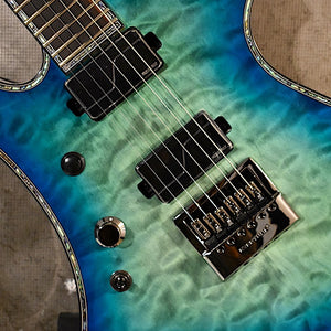 BC Rich Warlock Extreme Exotic Reptile Eye