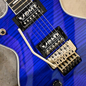 Dean *Exclusive* Cadillac Floyd Rose Trans Blue