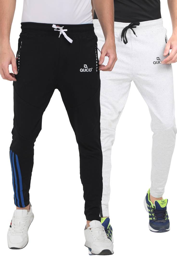 Mens Cotton Fleeze Track Pant - Pack of 2