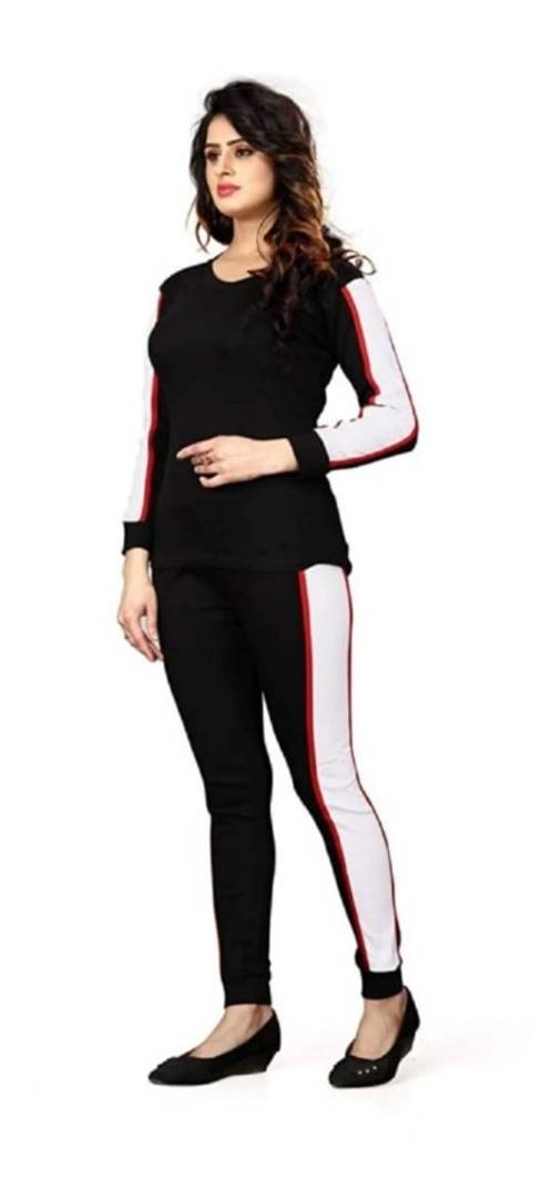 Women's Cotton Full Sleeves Track Suit