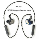 XIAOFAN WK20 customized 10 Balanced Armature Noise cancelling music earphone hifi in-ear earphone