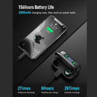 50sets T3 TWS Type c Wireless Headphones Bluetooth Earphone TWS 8D Stereo Bass Headset Earbuds Sport HiFi Waterproof