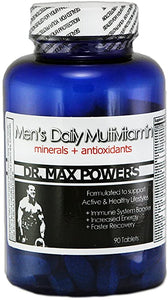 Men's Daily Multi-Vitamin for Performance & Muscle Function