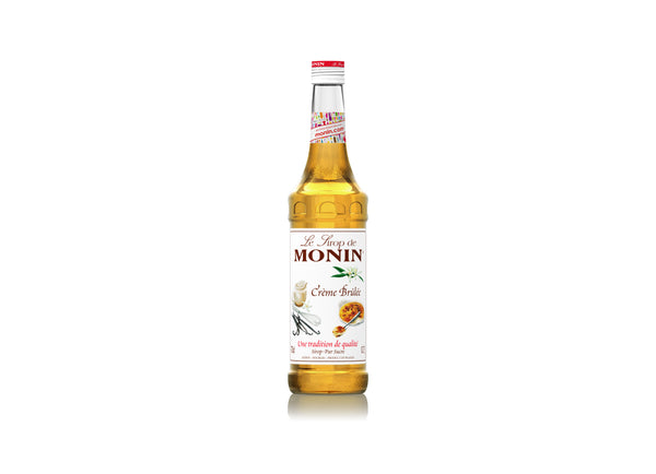 Monin Syrup Creme Brulee700ml