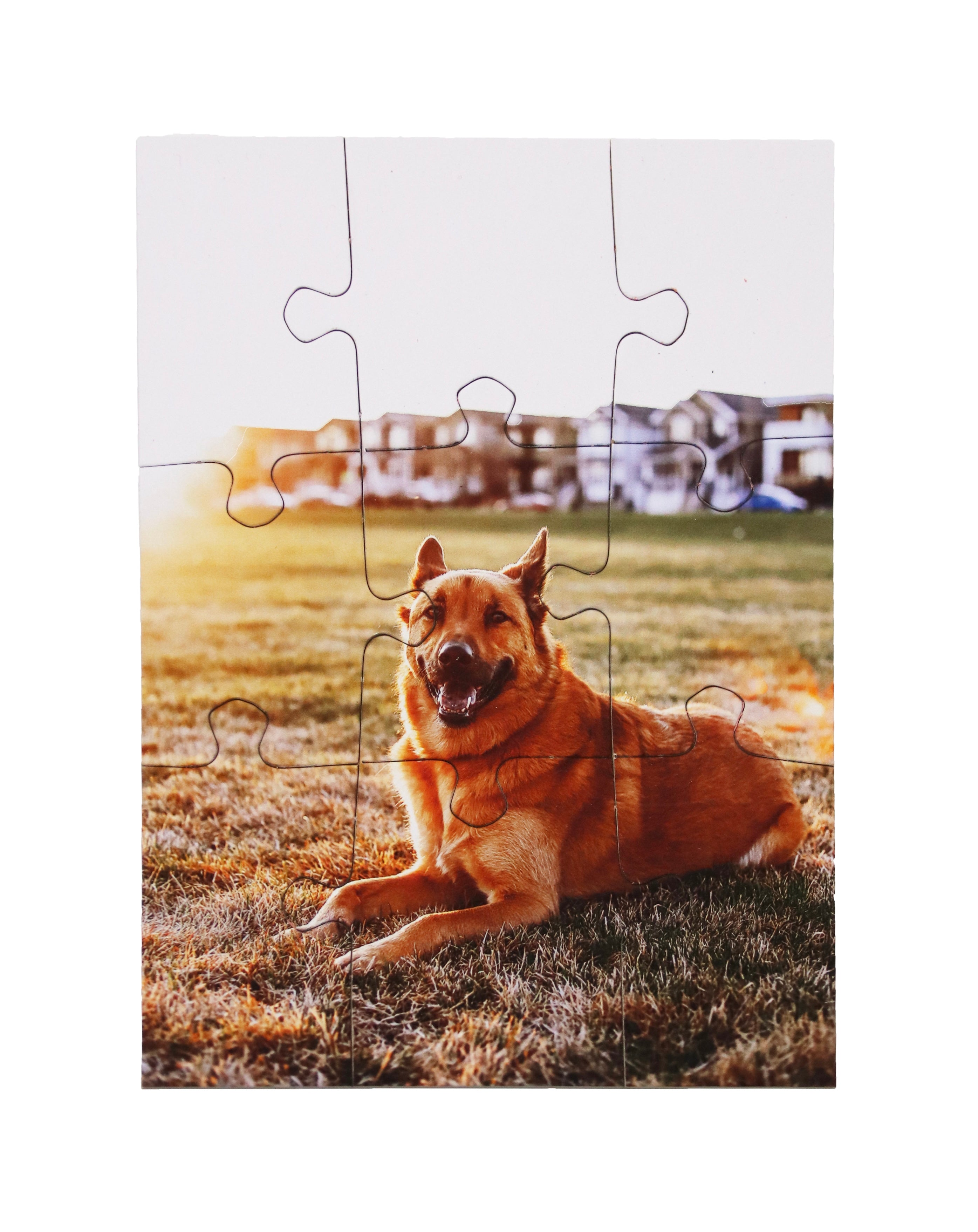Custom postcard jigsaw puzzle by North Shore Puzzles