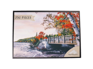 Silver Islet jigsaw puzzle box by North Shore Puzzles