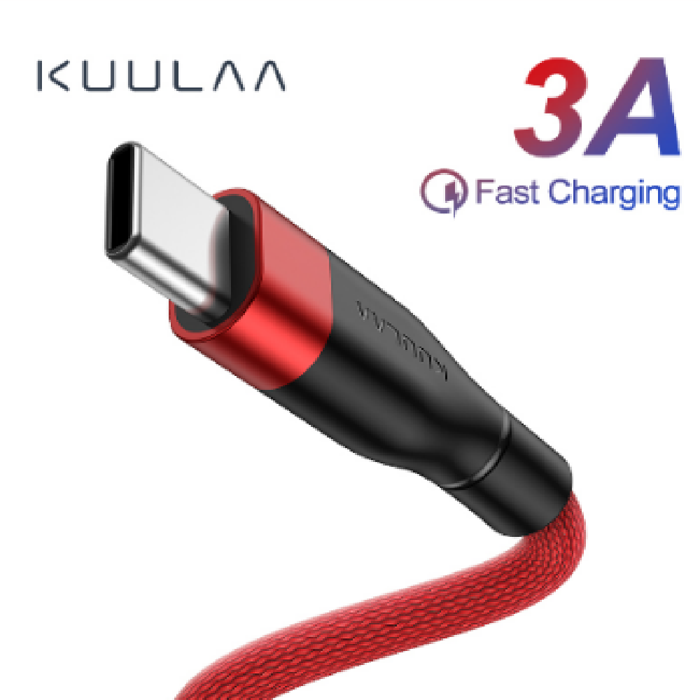 3A Quick Charge USB to Type-C Data Cable - usbstoreuk
