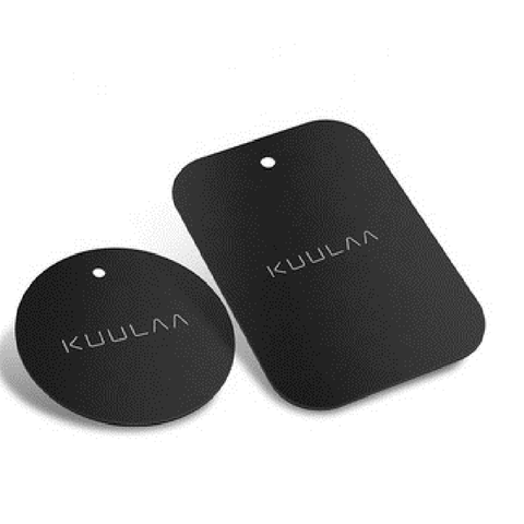 2 Pieces Magnetic Metal Plate Car Phone Holder - USB Store