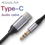 Type C to 3.5mm audio cable