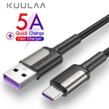 60W PD Type C USB Fast Charging Cable