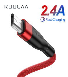 2.4A Quick Charge USB Micro Data Cable - USB Store