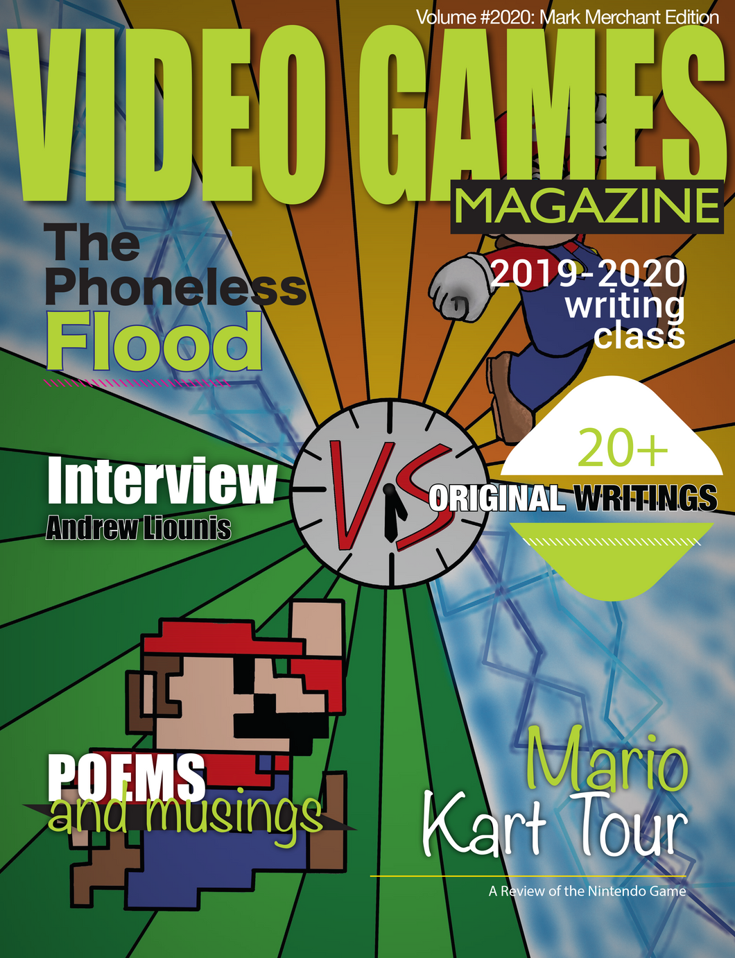 Video Games Magazine: Volume #2020: Mark Merchant Edition