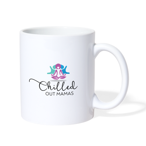 Chilled Out Mamas Mug - white
