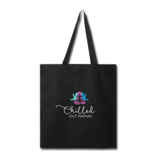 Load image into Gallery viewer, Chilled Out Mamas Tote Bag - black