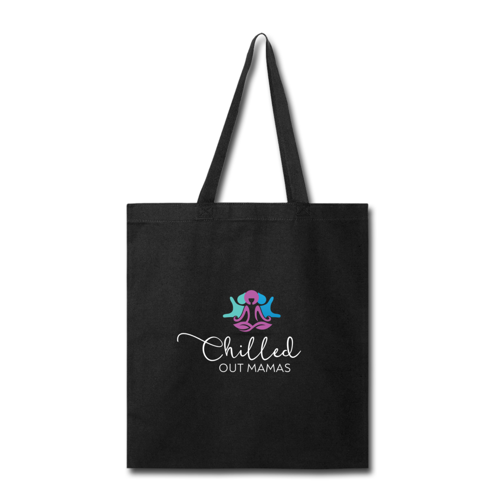Chilled Out Mamas Tote Bag - black