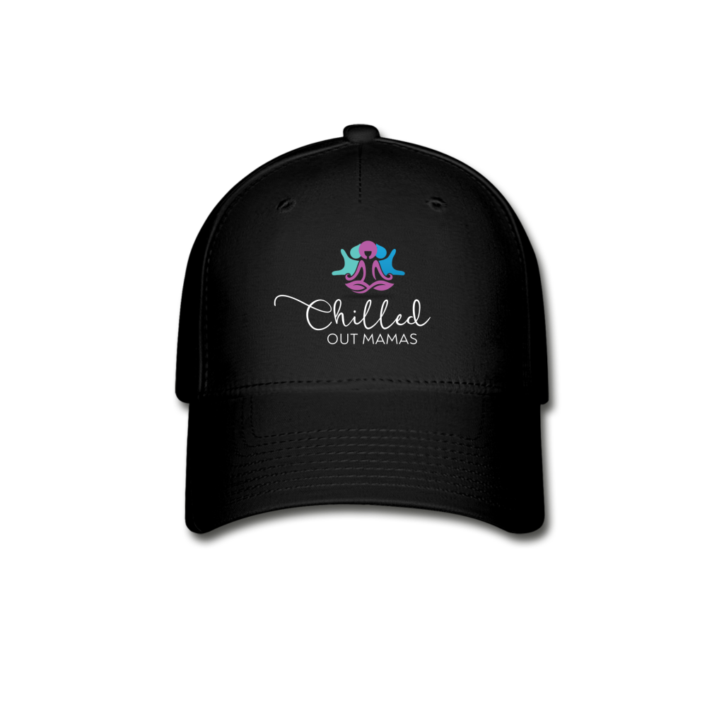 Chilled Out Mamas Baseball Cap - black
