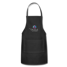 Load image into Gallery viewer, Chilled Out Mamas Apron - black