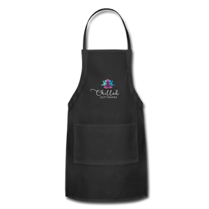 Chilled Out Mamas Apron - black