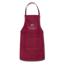 Load image into Gallery viewer, Chilled Out Mamas Apron - burgundy