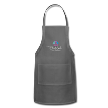 Load image into Gallery viewer, Chilled Out Mamas Apron - charcoal