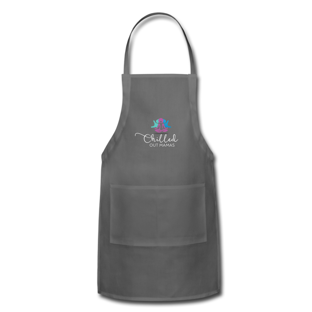 Chilled Out Mamas Apron - charcoal