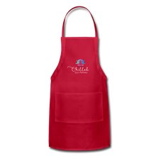 Load image into Gallery viewer, Chilled Out Mamas Apron - red