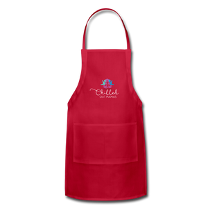 Chilled Out Mamas Apron - red