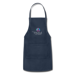 Chilled Out Mamas Apron - navy