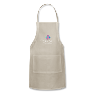 Chilled Out Mamas Apron - natural