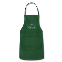 Load image into Gallery viewer, Chilled Out Mamas Apron - forest green