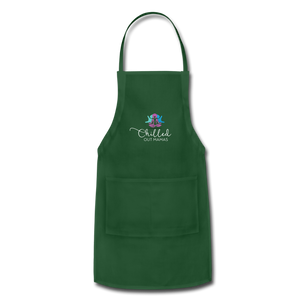 Chilled Out Mamas Apron - forest green