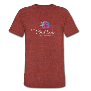 Chilled Out Mamas Unisex T-Shirt - heather cranberry