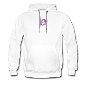 Chilled Out Mamas Unisex Premium Hoodie - white