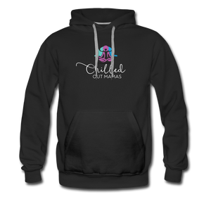 Chilled Out Mamas Unisex Premium Hoodie - black