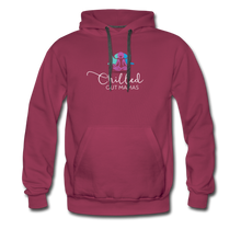 Load image into Gallery viewer, Chilled Out Mamas Unisex Premium Hoodie - burgundy