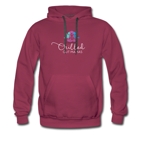 Chilled Out Mamas Unisex Premium Hoodie - burgundy