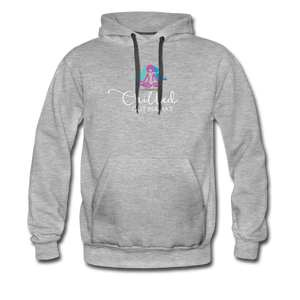 Chilled Out Mamas Unisex Premium Hoodie - heather gray