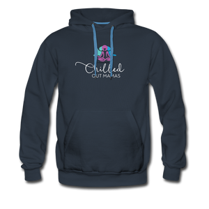 Chilled Out Mamas Unisex Premium Hoodie - navy