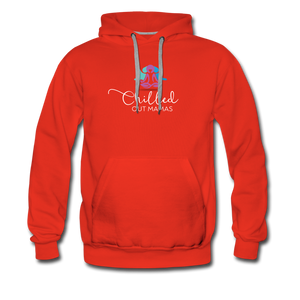 Chilled Out Mamas Unisex Premium Hoodie - red