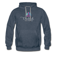 Load image into Gallery viewer, Chilled Out Mamas Unisex Premium Hoodie - heather denim
