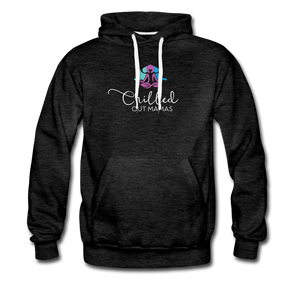 Chilled Out Mamas Unisex Premium Hoodie - charcoal gray