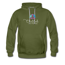 Load image into Gallery viewer, Chilled Out Mamas Unisex Premium Hoodie - olive green