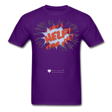 "Load image into Gallery viewer, TC ""Help! I Have A Young Adult"" Unisex Classic T-Shirt - purple"