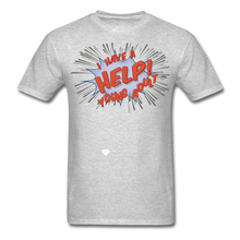 "Load image into Gallery viewer, TC ""Help! I Have A Young Adult"" Unisex Classic T-Shirt - heather gray"