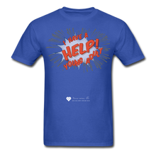 "Load image into Gallery viewer, TC ""Help! I Have A Young Adult"" Unisex Classic T-Shirt - royal blue"
