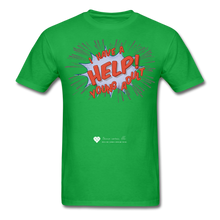 "Load image into Gallery viewer, TC ""Help! I Have A Young Adult"" Unisex Classic T-Shirt - bright green"