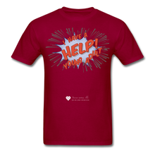 "Load image into Gallery viewer, TC ""Help! I Have A Young Adult"" Unisex Classic T-Shirt - dark red"