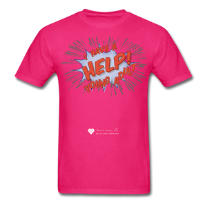 "TC ""Help! I Have A Young Adult"" Unisex Classic T-Shirt - fuchsia"